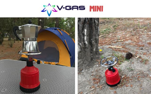 На планина с V-Gas Mini