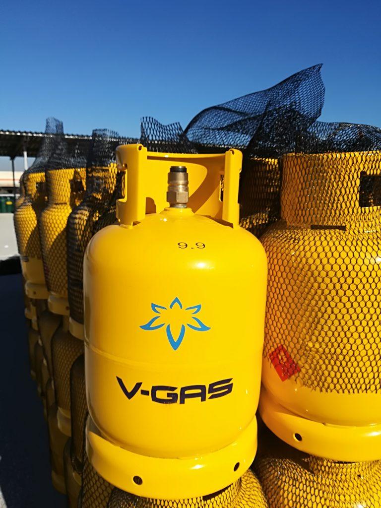 Новите бутилки на V-Gas вече са тук