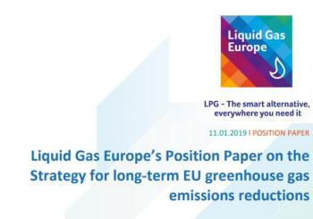 Позицията на Liquid Gas Europe относно Стратегията за намаляване на вредните емисии