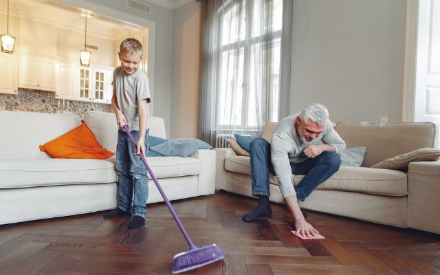 5 трика за по-ефикасно пролетно почистване на дома