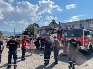 Tрадиционно вътрешно обучение на служителите на ГД ПБЗН – София (пожарна). Галерия.